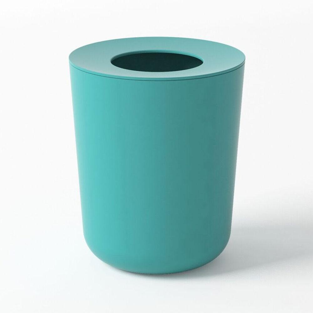 Ekobo biobu poubelle de salle de bains fibre de bambou commerce resopnsable altermundi - Poubelle salle de bain bambou ...