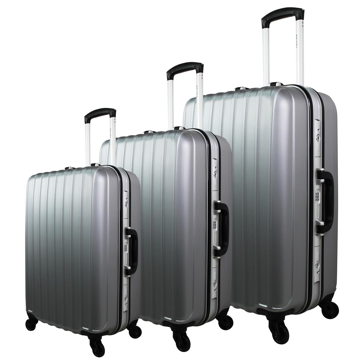 lot de 3 valises rigides pas cher bagage solide. Black Bedroom Furniture Sets. Home Design Ideas