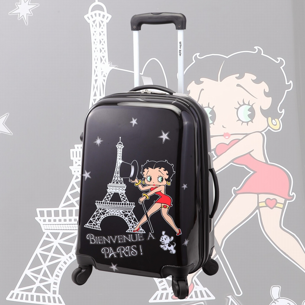 valise cabine pas cher betty boop achat bagage. Black Bedroom Furniture Sets. Home Design Ideas