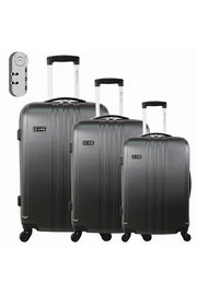PACK DE 3 VALISES / Gigognes Valise chariot ABS 4 roues 360°