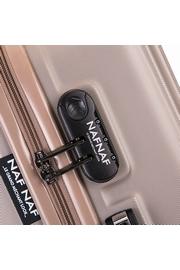 PACK DE 3 VALISES NAF NAF Matière : ABS 4 roues 360° , Roues