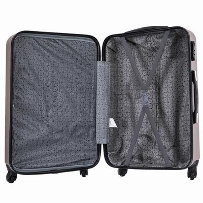 Mix valises grande taille VALISE 70CM Matière : ABS 4 Roues