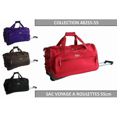 SAC DE VOYAGE A ROULETTES 55CM (CABINE) Collection : OSAKA