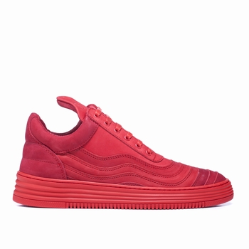 Sneakers Low Top, Filling Pieces - 100 % Cuir - Nubuck -