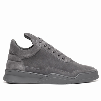 Sneakers, Filling Pieces - Low Top - 100 % Cuir Nubuck -