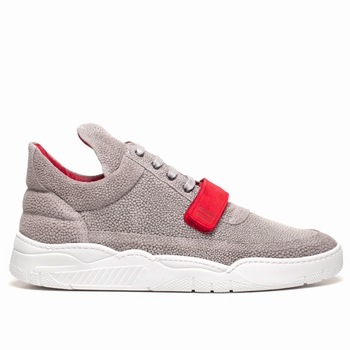 Sneakers, Filling Pieces - Low Top - 100 % Cuir - Strap