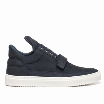Sneakers, Filling Pieces - Low Top - 100 % Cuir - Strap ton