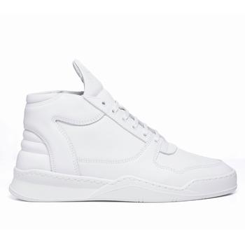 Sneakers Mid Top, Filling Pieces - 100 % Cuir pleine fleur -