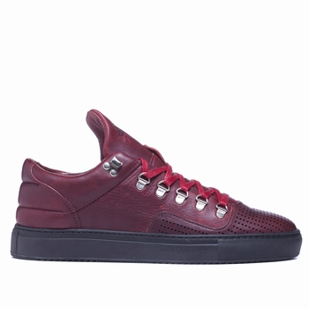 Sneakers Mountain Cut, Filling Pieces - 100% Cuir tanné -