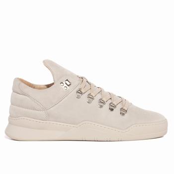 Sneaker Mountain Cut tonale basse - 100% cuir suédé premium