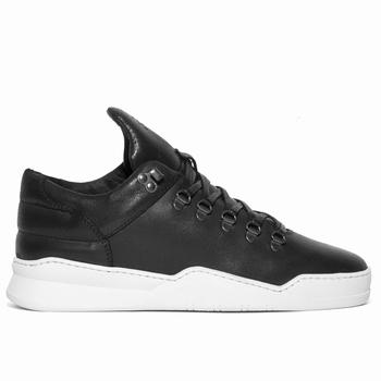 Sneaker Mountain Cut basse waxée - 100% cuir waxé premium -