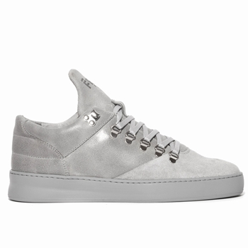 Sneaker Mountain Cut basse - 100% cuir suédé premium -