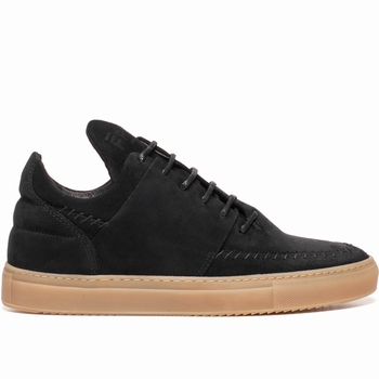 Sneakers, Filling Pieces - Low Top - 100 % Cuir Suede -