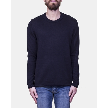 Pull Hope. - Col rond bord côte - 70% Coton / 30% Lin -