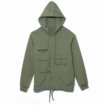 Sweatshirt, Maharishi - 100% coton - Coton organique 375g -