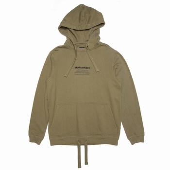 Sweatshirt, Maharishi - 100% Coton Organique - Loopback -