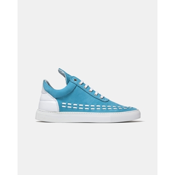 Sneakers basses Low Top, Filling Pieces - 100% Cuir - Nubuck