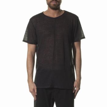 T-Shirt, Never Enough - Col rond - Manches courtes - 100%