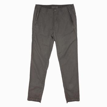 Pantalon en popeline - Slim fit - Surteint et lavé à la main