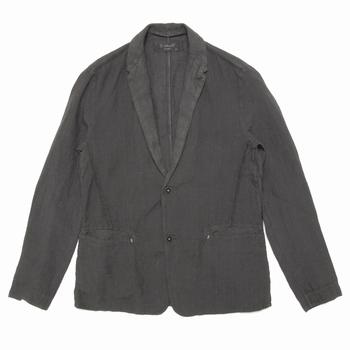 Veste à 2 boutons en lin - 2 poches avant, 1 intérieure -