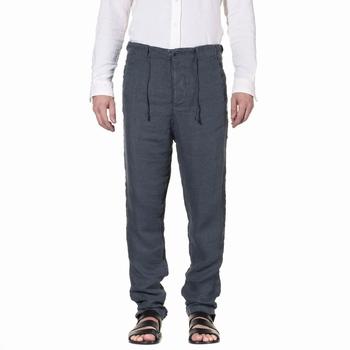 Pantalon, Transit Uomo - 100% Lin - 2 Poches côtés - 2