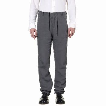 Pantalon, Transit Uomo - 100% Lin - Fermeture braguette avec
