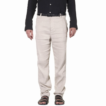 Pantalon, Transit Uomo - 63% Lin , 34% Lyocell et 3%