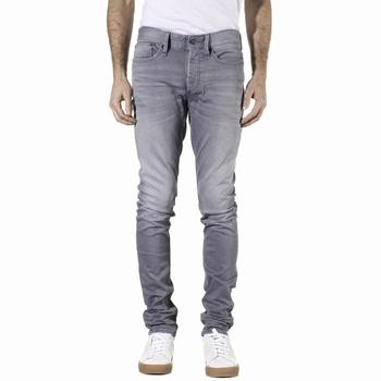 Jeans, Denham the Jeanmaker - Denim gris délavé - 98% coton