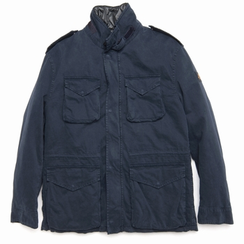 Veste, Barbed  - Field Jacket - 100% Coton - Fermeture zip