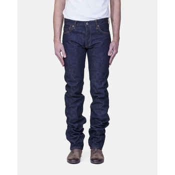 Jeans Droit JB0701. - 14.8 oz. Denim Selvedge Japan Blue