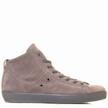 Sneakers hautes, Leather Crown - Basket montante - 100% cuir