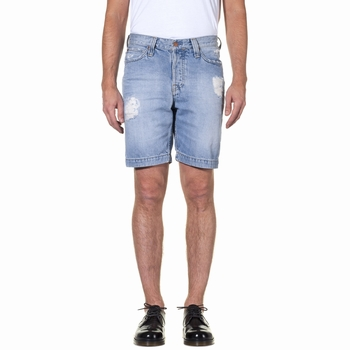 Shorts, Big John x Elevation Store - Denim brut délavé -