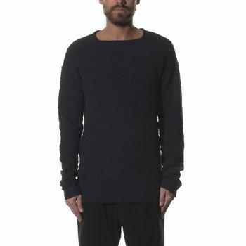 Maille, MD75 - Col rond - Fit loose - 100% Coton - Texturé -