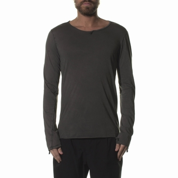 Tee Shirt, MD75 - Col rond - Manches longues - 100% Coton -
