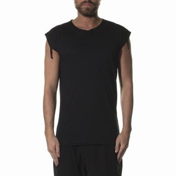 Tee Shirt, MD75 - Usé et déchiré - Sans manches - Col rond -