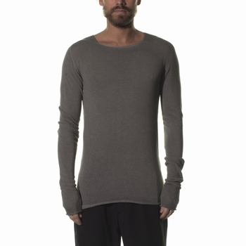 Maille, MD75 - Col rond - 100% Coton - Long - Loose fit -