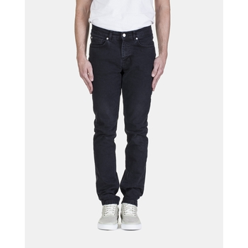 Jeans, L'Homme Rouge - Denim black stone wash - Taille