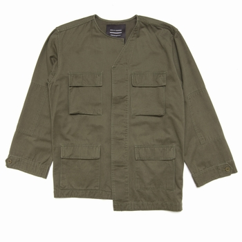 Veste, Tourne de Transmission - Field Jacket - Sans col -