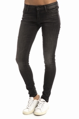 Jean Mother The Looker Skinny. Jean skinny, délavé. 5 poches