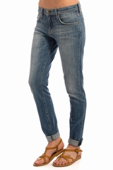 Jean the rolled skinny CURRENT ELLIOT, Jean skinny 5 poches