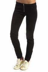 Jersey legging, Faith Connexion. Legging bas zippe. 55%