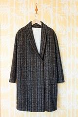 Manteau attache POMANDERE, Manteau manches longues,