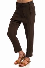 Pantalon Jalouse LAURENCE DOLIGE, Pantalon fluide, 2 poches