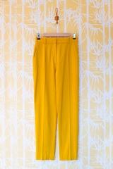 Pantalon flanelle stretch CARVEN, Pantalon droit, 2 poches
