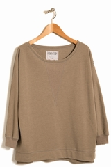 Sweat callas FRENCH TERRY, Sweat manches longues col bateau,