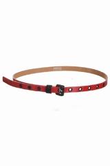 La ceinture fine bicolore Sonia By Sonia Rykiel est une