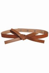 La ceinture fine noeud Sonia By Sonia Rykiel est une