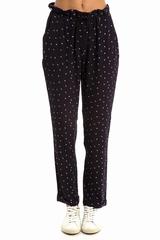 Pantalon MAISON SCOTCH étoiles ceinture. Pantalon large