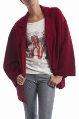 Le manteau droit Sonia By Sonia Rykiel est un manteau