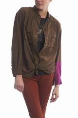 Le chemisier poches poitrine Sonia by Sonia Rykiel est une